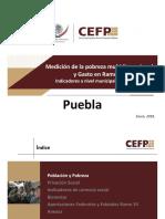 Medición de La Pobraza Multidimencional Puebla