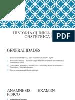 Historia clinica Obstetrica