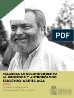 Libro Homenaje Despedida Eugenio Aspillaga
