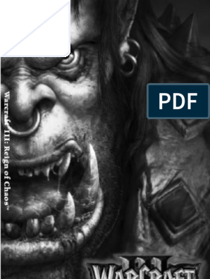 WarcraftIIIManual | Warcraft | Blizzard Entertainment