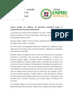 Ensayo sobre Desarrollo sostenible en República Dominicana - AA