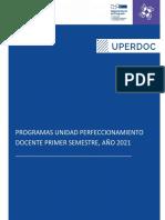 programas unidad de perfeccionamiento docente 2021