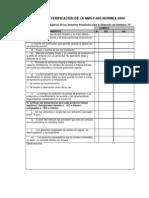 lista de verificacion para distintivo H
