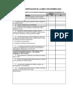 Lista de verificacion para distintivo h for Equipo mayor y menor de cocina pdf