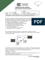 Primera Práctica Calificada de Hidráulica de Canales (2020-1)