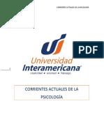ANTOLOGÍA DE CORRIENTES ACTUALES DE LA  PSICOLOGÍA (1)