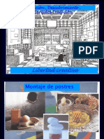 Montaje de Postres