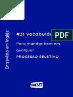Vocabulários - Fluente - final