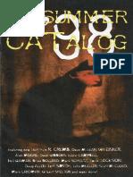 Kitchen Sink Press Summer Catalog 1998
