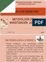 7. MÉTODOS DE INVESTIGACIÓN. JURÍDICA
