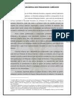 MANIFESTO EM DEFESA DOS PEDAGOGOS JURÍDICOS VERSÃO FINAL
