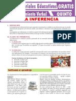 5. La Inferencia Para Quinto Grado de Secundaria
