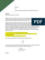 Biomatemáticas Actividad 1 Corte 2 - Grupo Chavez