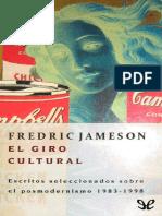 Jameson Fredric El Giro Cultural PDF