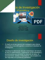 Diseño de Investigacion Cientifica