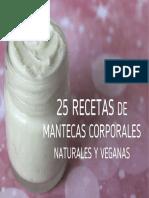 25 Recetas de Mantecas Corporales(1)