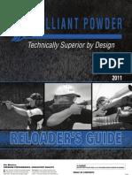 Alliant Powder Catalog 2011