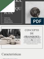CONTRATO DE FRANQUICIA Y LA JOINT VENTURE Full.