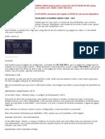 Configuração MODEM ARRIS TG862 E MODEM DLINK DIR879