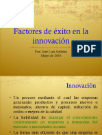 2020 Factores de Exito en La Innovacion