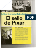 CULTIVAR LA CREATIVIDAD COLECTIVA PIXAR