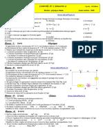Controle 1 _ 3 S2 PC 1bac FR (Www.AdrarPhysic.Fr)