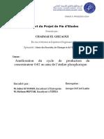 Exemple de Rapport de Stage Au Sein Du OCP Jorf Lasfar