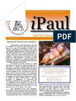iPaul no. 13 - Saint Paul Scholasticate Newsletter