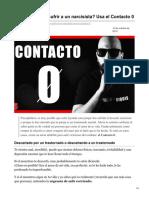 (A-SUPR) psicopsiquis.com-Quieres hacer sufrir a un narcisista Usa el Contacto 0