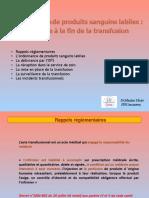 LaTransfusionDeProduitsSanguinsLabilesDrFLAVIER2018M4