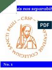 iPaul no.1 - Saint Paul Scholasticate Newsletter