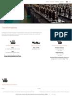 Transformadores de potência, distribuição e subestações móveis _ Efacec