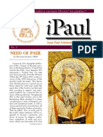 iPaul no 3 - Saint Paul Scholasticate Newsletter