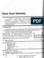 Flow over Notches