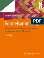 Herbert Bernstein - Formelsammlung_ Elektrotechnik, Elektronik, Messtechnik, analoge und digitale Elektronik-Springer Fachmedien Wiesbaden_Springer Vieweg (2019)
