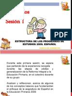 ESTRUCTURA DE LOS PROGRAMAS DE ESTUDIO