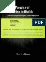 14_15 Pesquisa Em Ensino de História, Entre Desafios Epistemológicos e Apostas Políticas