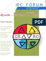 A.M.O.R.C. - Forum-Rosenkreuzer - Zeitschrift Für Mystik-Esoterik- Kunst - 01-2003