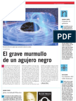 El grave murmullo de un agujero negro