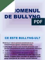 Fenomenul de bullyng