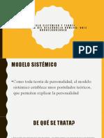 Modelo sistemico y ecología del desarrollo humano