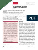 LOUBIERE2008-New PhotobioreactorForContinuousMicroalgalProduction
