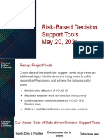 Risk Based Decision Support Tool 05-20-2021