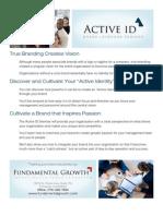 Active ID Onesheet