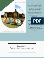 Patrimonio Cultural - material e imaterial