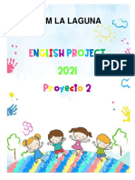 proyecto 2 de ingles GRADO 1 Y 2