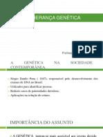 aula ensino medio  genética