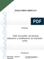 ppt miocardiopatii