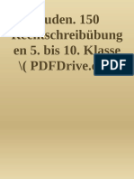 Duden. 150 Rechtschreibübungen 5. bis 10. Klasse ( PDFDrive )