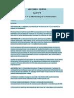 licencia marco legal